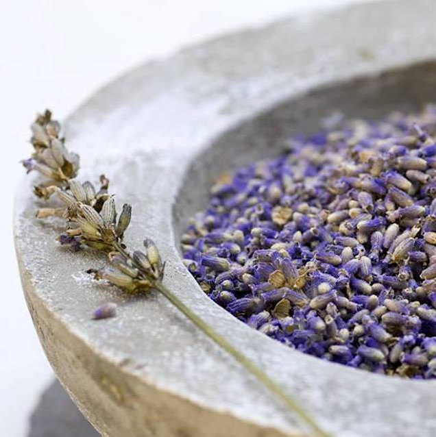 Lavender flowers Ia blue whole - 100g