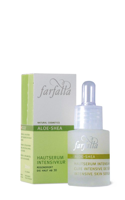 Aloe-Shea Hautserum Intensivkur, 15ml