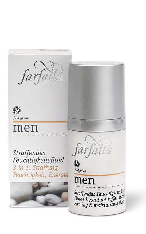men Firming & moisturising fluid 30ml