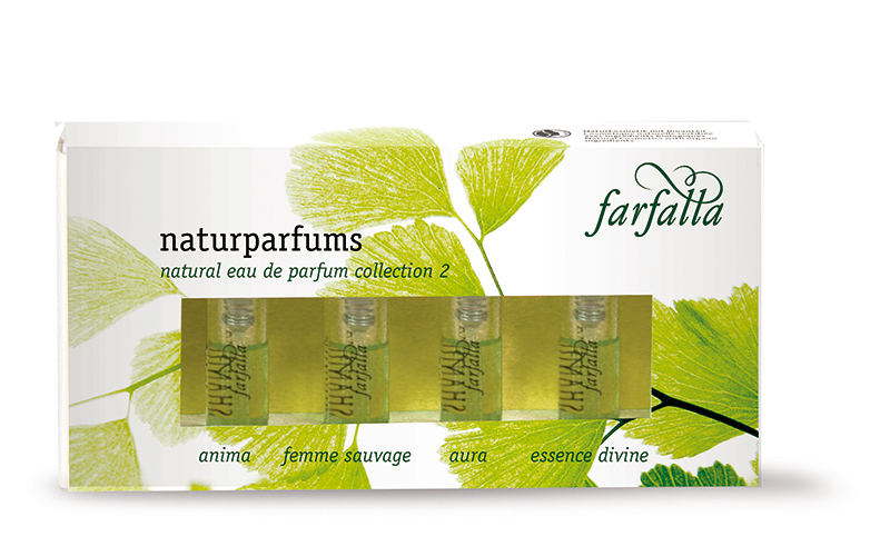 Geschenkset Naturparfums Collection 2, 4x2ml