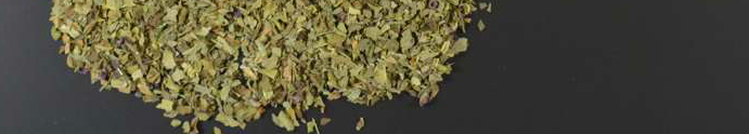 Sweet basil leaves organic rubbed - 1000g